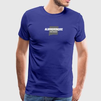 NEW MEXICO ALBUQUERQUE US STATE EDITION - Men's Premium T-Shirt
