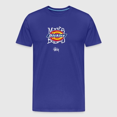 Dickies x Stusy - Men's Premium T-Shirt