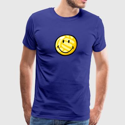 SmileyWorld Smiling Volleyball - Men's Premium T-Shirt