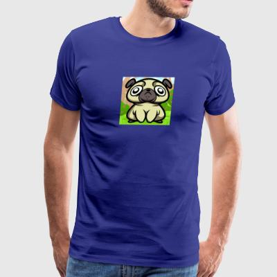 how-to-draw-a-derpy-pug_1_000000020486_5 - Men's Premium T-Shirt