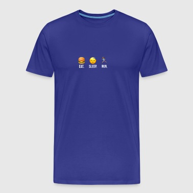 Eat Sleep Run Women - Men's Premium T-Shirt