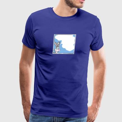 Dreamy Bunny Time - Men's Premium T-Shirt