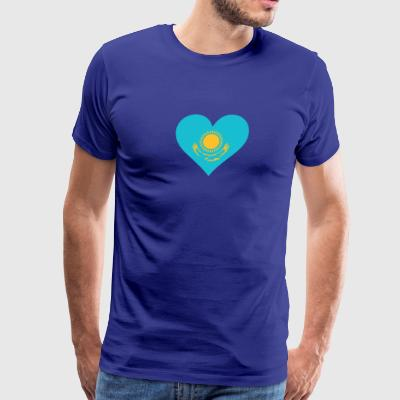 A Heart For Kazakhstan - Men's Premium T-Shirt