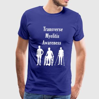 Transverse Myelitis Awareness - Men's Premium T-Shirt