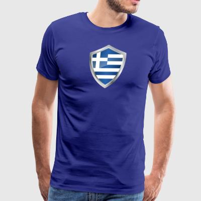 Emblem Greece - Men's Premium T-Shirt