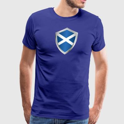 Emblem Scotland - Men's Premium T-Shirt