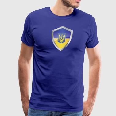 Emblem Ukraine - Men's Premium T-Shirt