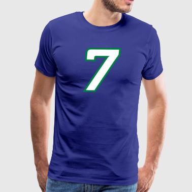 Sport Number 7 Seven - Men's Premium T-Shirt
