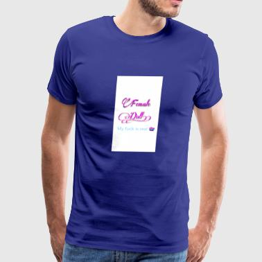 Female Doll - Men's Premium T-Shirt