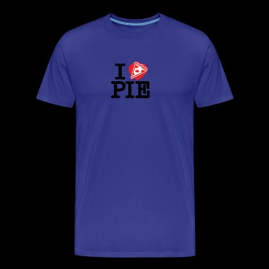 I Heart Pizza Pie - Men's Premium T-Shirt