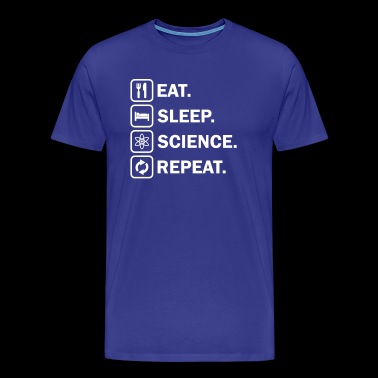 Eat Sleep Science - Men's Premium T-Shirt