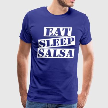 Eat Sleep Salsa - Men's Premium T-Shirt