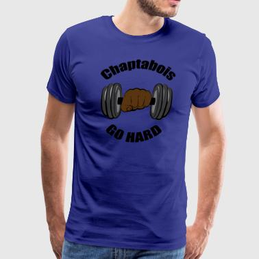 Chaptabois Go Hard - Men's Premium T-Shirt