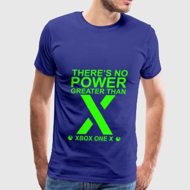 There s No Power Greater Than X Gamescom 2017 Edit - Men's Premium T-Shirt