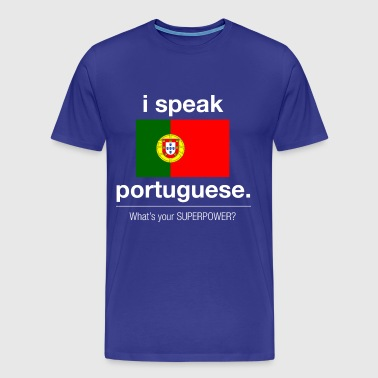 Portuguese superpower - Men's Premium T-Shirt