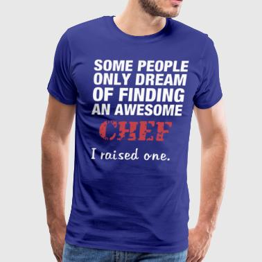 dreams of becoming a great chef - Men's Premium T-Shirt