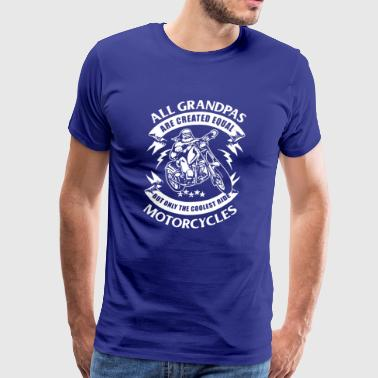 Grandpas Ride Motorcycles T-shirt - Men's Premium T-Shirt