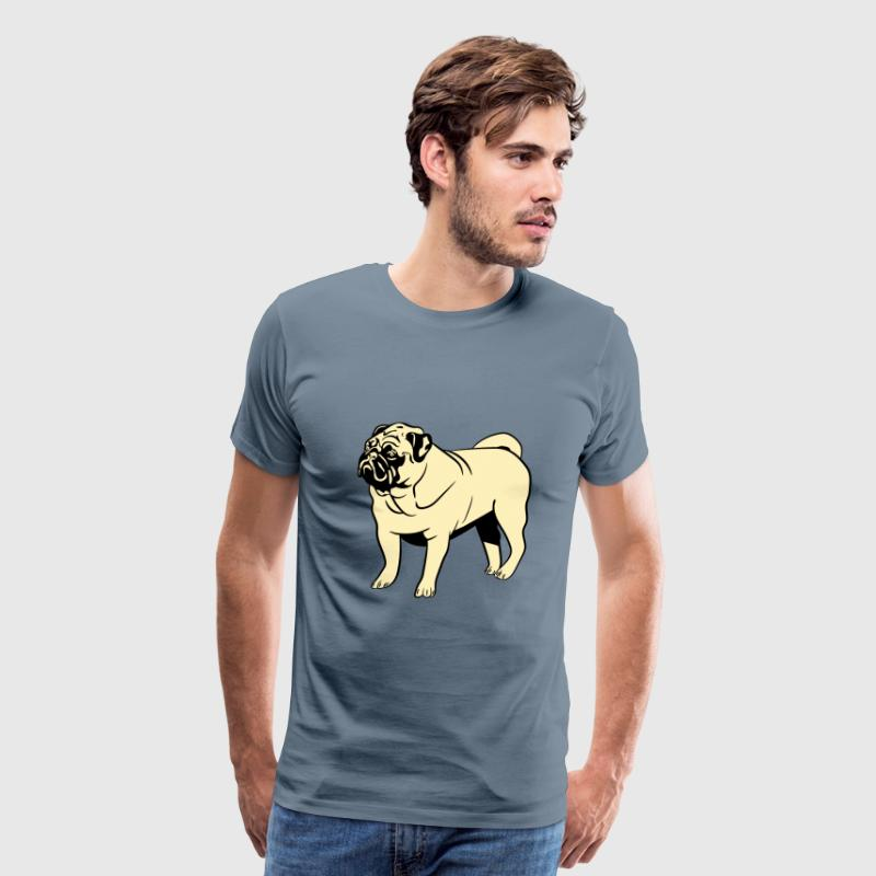 Dog mops - Men's Premium T-Shirt