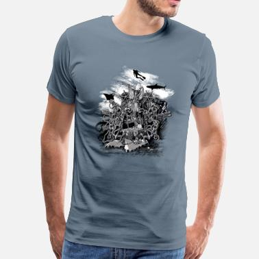 Deep Sea Treasures of the deep sea - Men's Premium T-Shirt