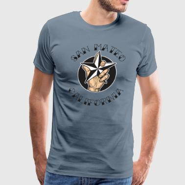 San Mateo California - Men's Premium T-Shirt