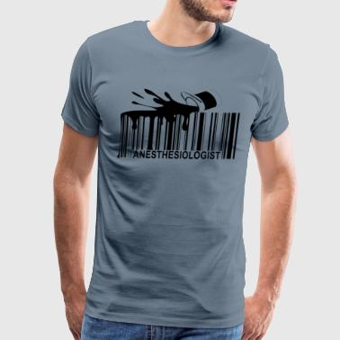 anesthesiologist_barcode_ - Men's Premium T-Shirt