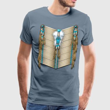 First Native Native Breastplate 14 - Men's Premium T-Shirt