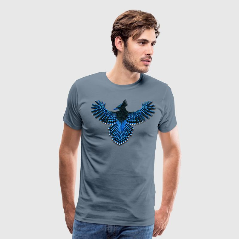 Beaded Steller's Jay - Men's Premium T-Shirt