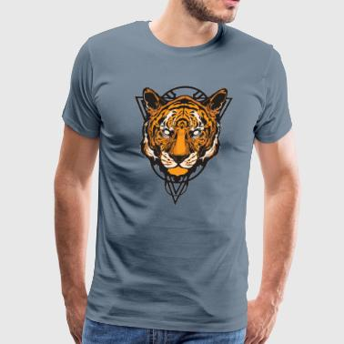 yep a tiger_design - Men's Premium T-Shirt