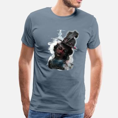 Thoughtful Art Thought explosion art - Men's Premium T-Shirt