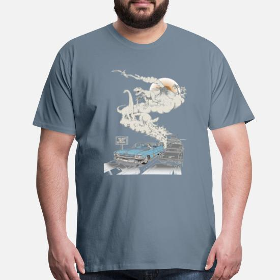 Fossils refueled desi Men's Premium T-Shirt | Spreadshirt
