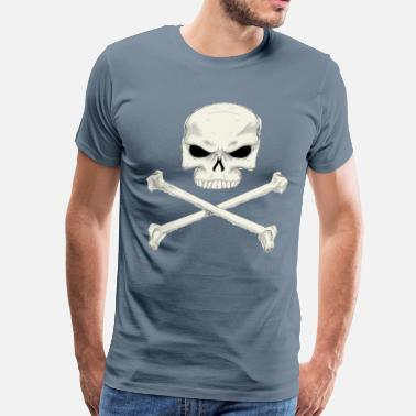 Jolly Rogers Jolly roger painting  - Men's Premium T-Shirt