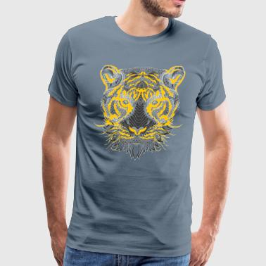feral painting design - Men's Premium T-Shirt