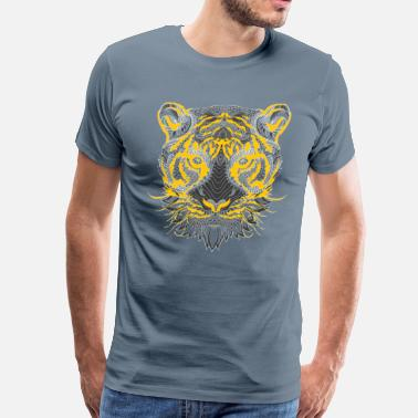 Feral feral painting design - Men's Premium T-Shirt