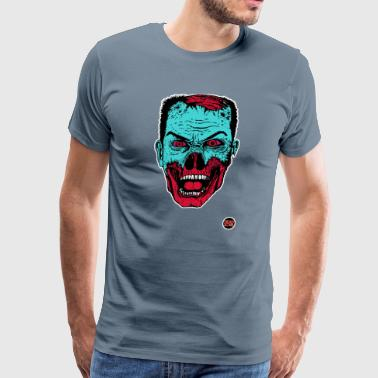 Dead all over zombie head - Men's Premium T-Shirt