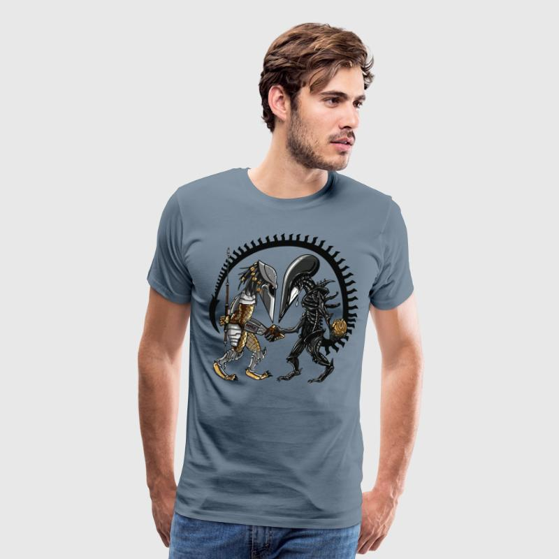 Alien Of Spades T-Shirt - Men's Premium T-Shirt