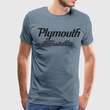 Satellite Plymouth Satellite - Men's Premium T-Shirt