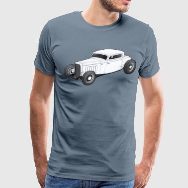 32 Ford 1932 Ford 3 Window Coupe - Men's Premium T-Shirt