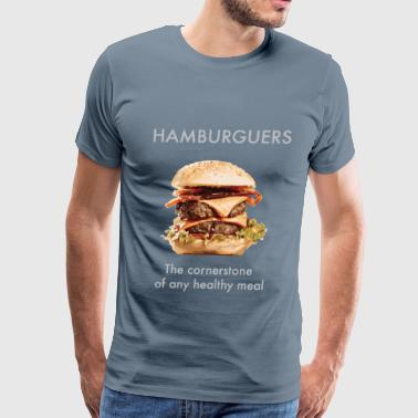 Hamburguers - Men's Premium T-Shirt
