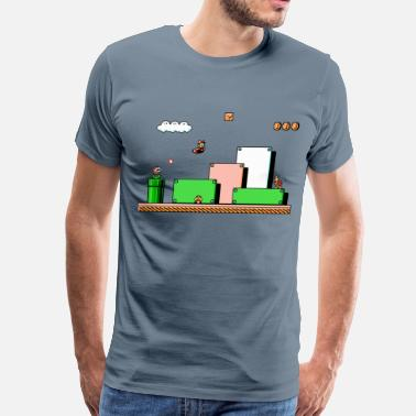 Nintendo Super mario Bros 3 - Men's Premium T-Shirt