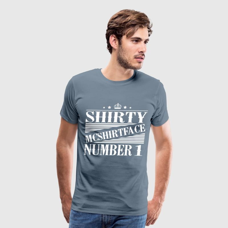 Shirty McShirtface - Men's Premium T-Shirt