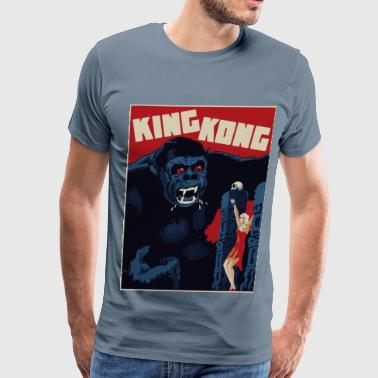 King Kong Red - Men's Premium T-Shirt