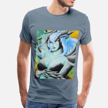 Draconian Lady of the Mountain - Men's Premium T-Shirt