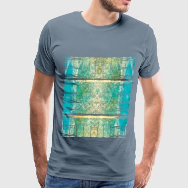 Balearic Islands riff colors - Men's Premium T-Shirt