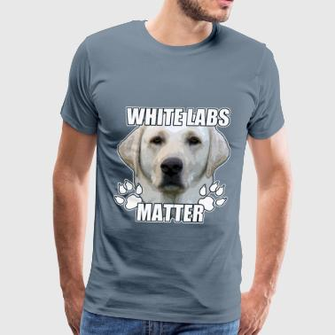 WHITE LABS MATTER - Men's Premium T-Shirt