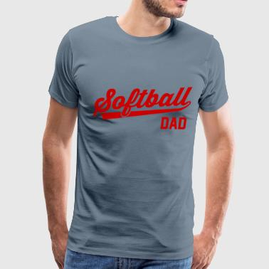 Softball Dad - Men's Premium T-Shirt