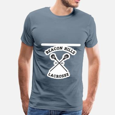 Running Hills Beacon Hill Lacrosse - Men's Premium T-Shirt