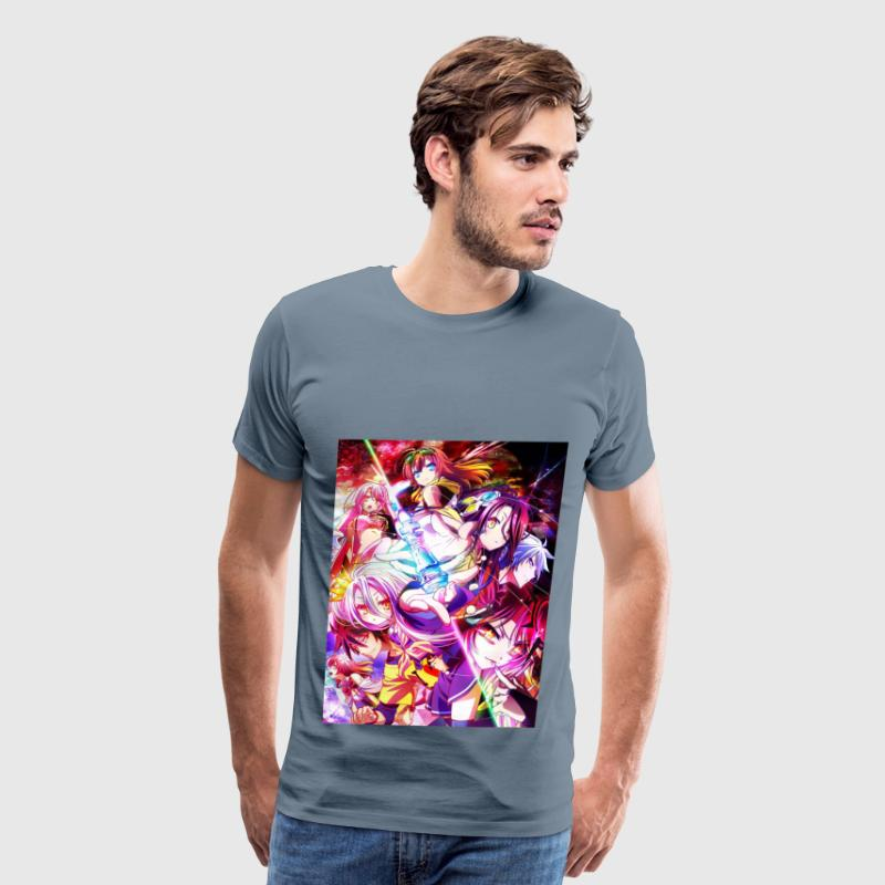no game no life  zero  - Men's Premium T-Shirt