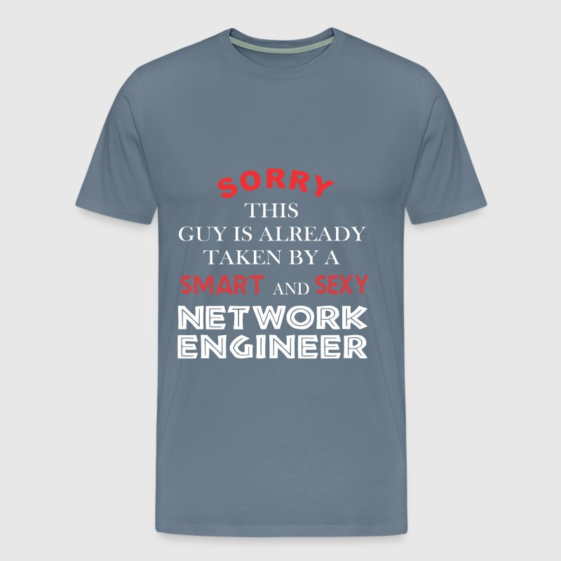 Network engineer - Sorry this guy is already taken - Men's Premium T-Shirt