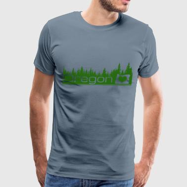 Oregon - Oregon - Men's Premium T-Shirt