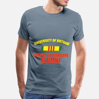 Vietnam War Vietnam Veterans - University of Vietnam - school  - Men's Premium T-Shirt